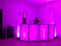 Cabina led Dj & Conos led