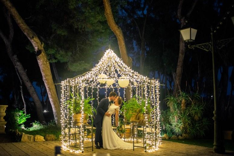 Microbombilla para tu boda, decoración de eventos. Una noche mágica con Ritmovil.